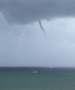 Photo of waterspout